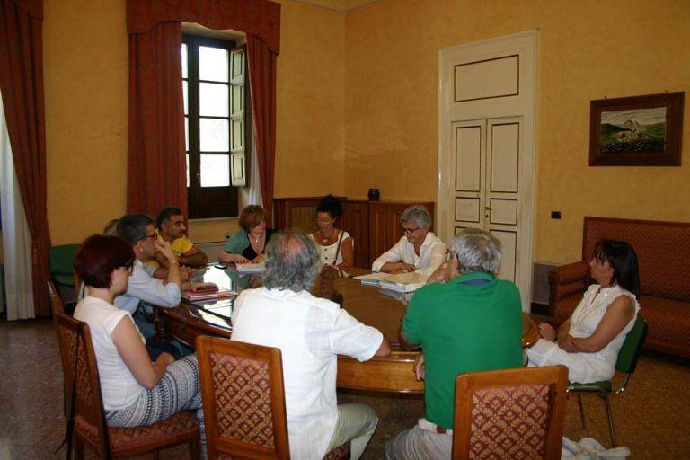 Teramo, Di Sabatino incontra i rappresentanti del Comitato Braga e della RSA dell'Istituto superiore musicale