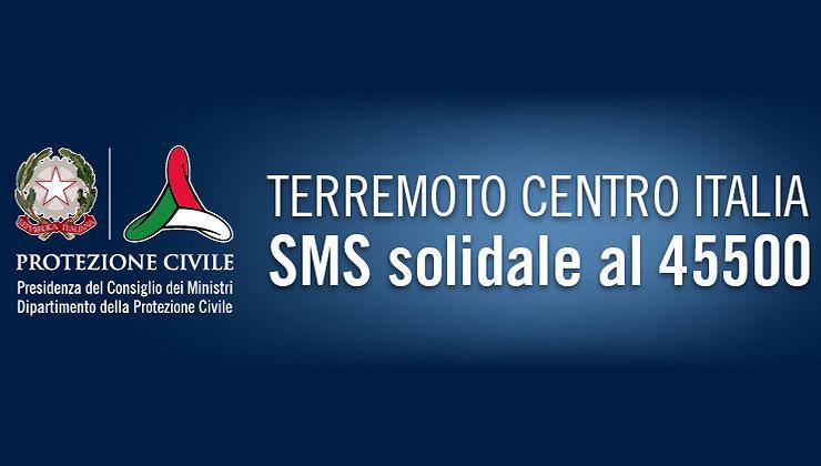 Terremoto, ecco dove sono finite le donazioni degli SMS solidali