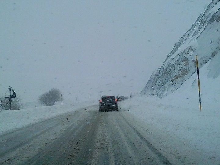 Maltempo Abruzzo, in arrivo aria gelida polare