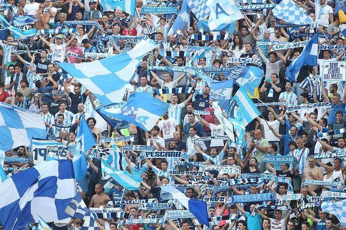 Pescara-Milan tutto esaurito, sold out in 5 ore