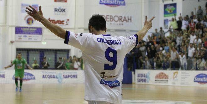 Calcio a 5, Calderolli torna all'Acqua e Sapone