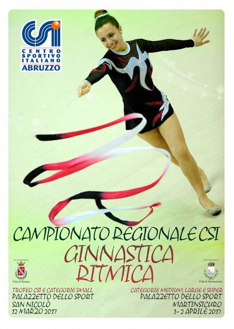 Ginnastica ritmica, campionati regionali Csi a San Nicolò e Martinsicuro