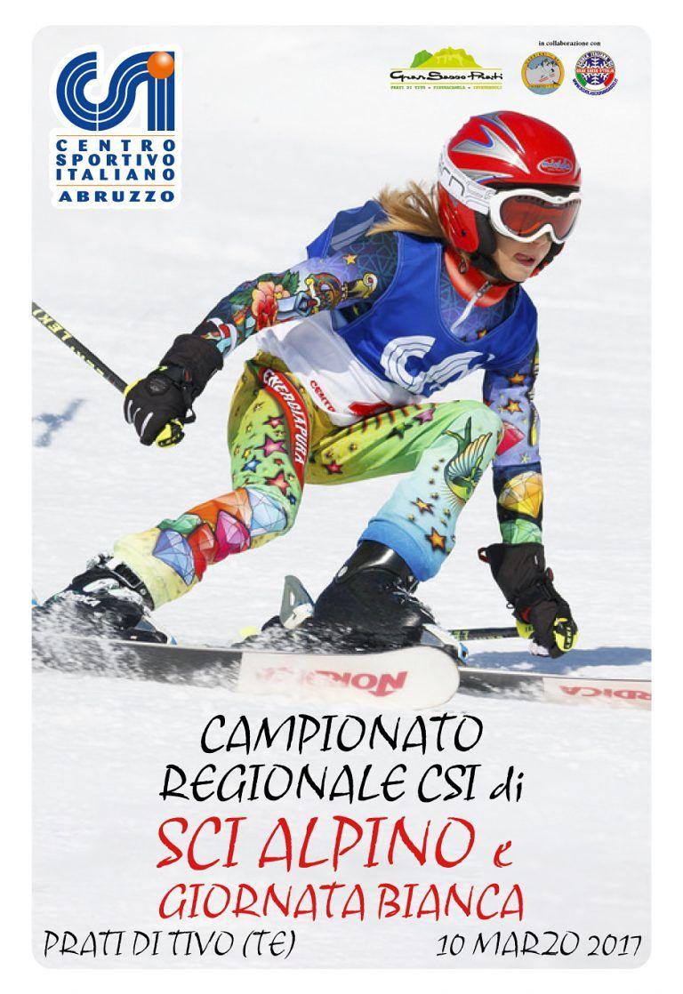 Pietracamela, i campionati di sci del CSI ai Prati di Tivo