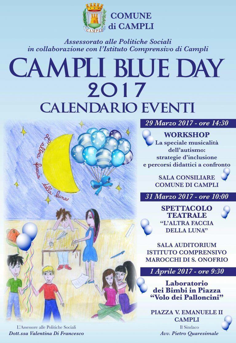 Campli Blue Day: il programma delle iniziative