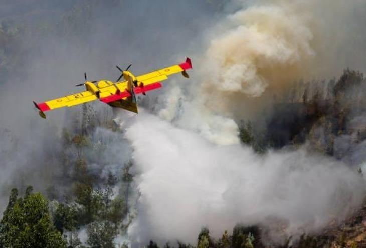 Incendio Monte Morrone: dal 20 agosto, 412 lanci dei Canadair e 386 degli elicotteri