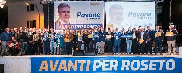Roseto, Pavone conclude la sua campagna elettorale sul Lungomare Nord