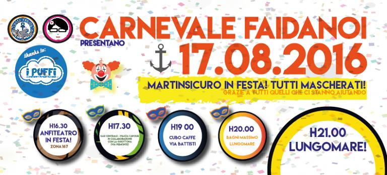 Martinsicuro, Carnevale fa da noi: iniziativa organizzata dai cittadini