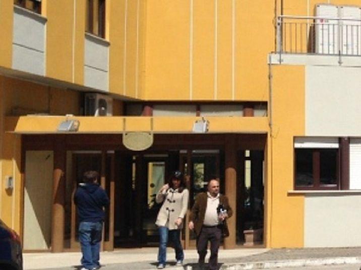 L'Aquila Calcio visita gli anziani della Residenza Ex ONPI