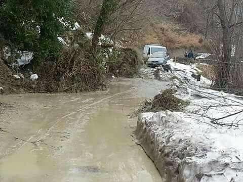 Maltempo, in Abruzzo dopo neve è emergenza frane