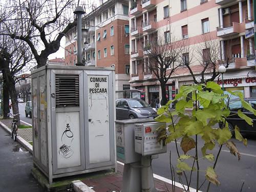 Pescara, ridotte le centraline per il controllo dell'aria