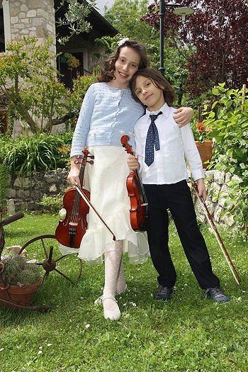 Altro successo per i due giovani violinisti vastesi Premio per Chiara e Andrea Di Pietro
