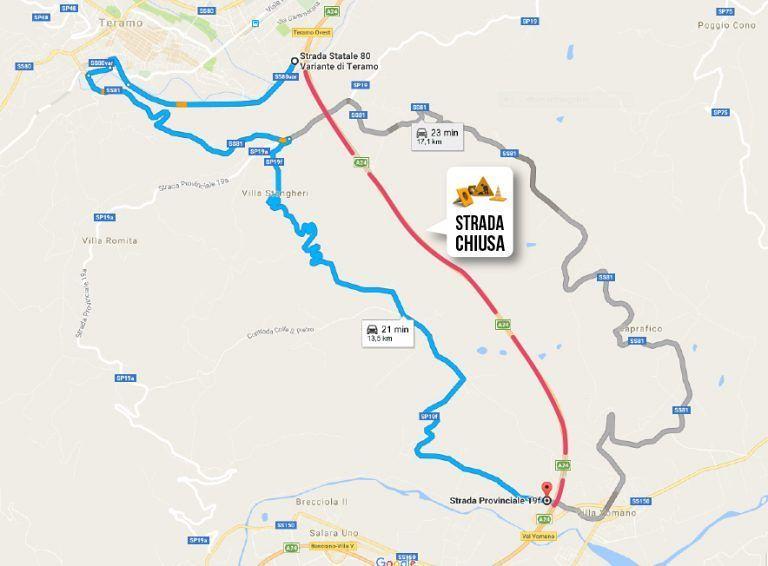 A24, chiusura notturna per lavori del tratto Teramo Ovest-Val Vomano