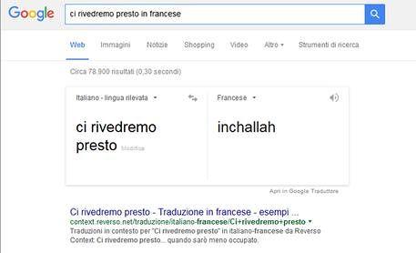 Google Traduttore, attacco hacker 'ci rivedremo presto' diventa 'Inchallah'