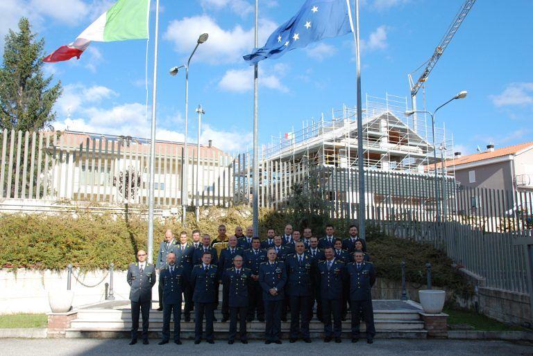 Visita del Generale Bruno Buratti al comando regionale abruzzese della GdF