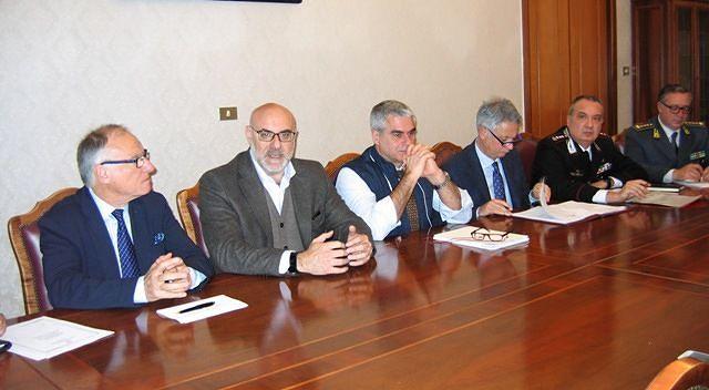 Comitato per l'Ordine e la Sicurezza Pubblica a Chieti