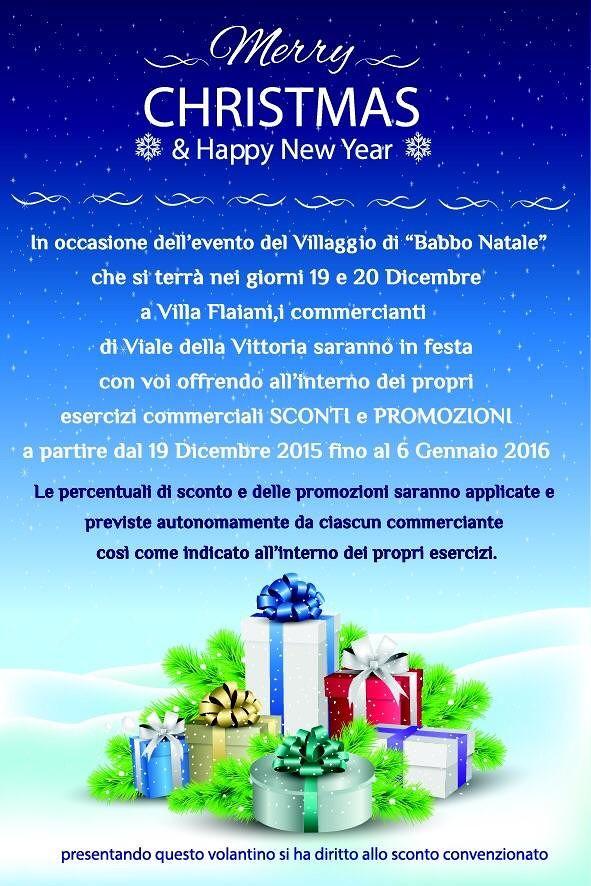 Alba Adriatica, acquisti di Natale: sconti e promozioni nei negozi di viale Vittoria