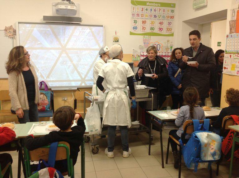 Montesilvano, la Commissione Mense a scuola: iniziate le visite a sorpresa