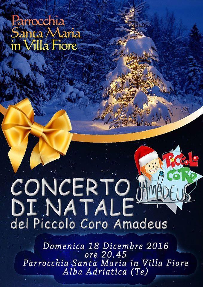 Alba Adriatica, Concerto di Natale in chiesa per il Piccolo Coro Amadeus