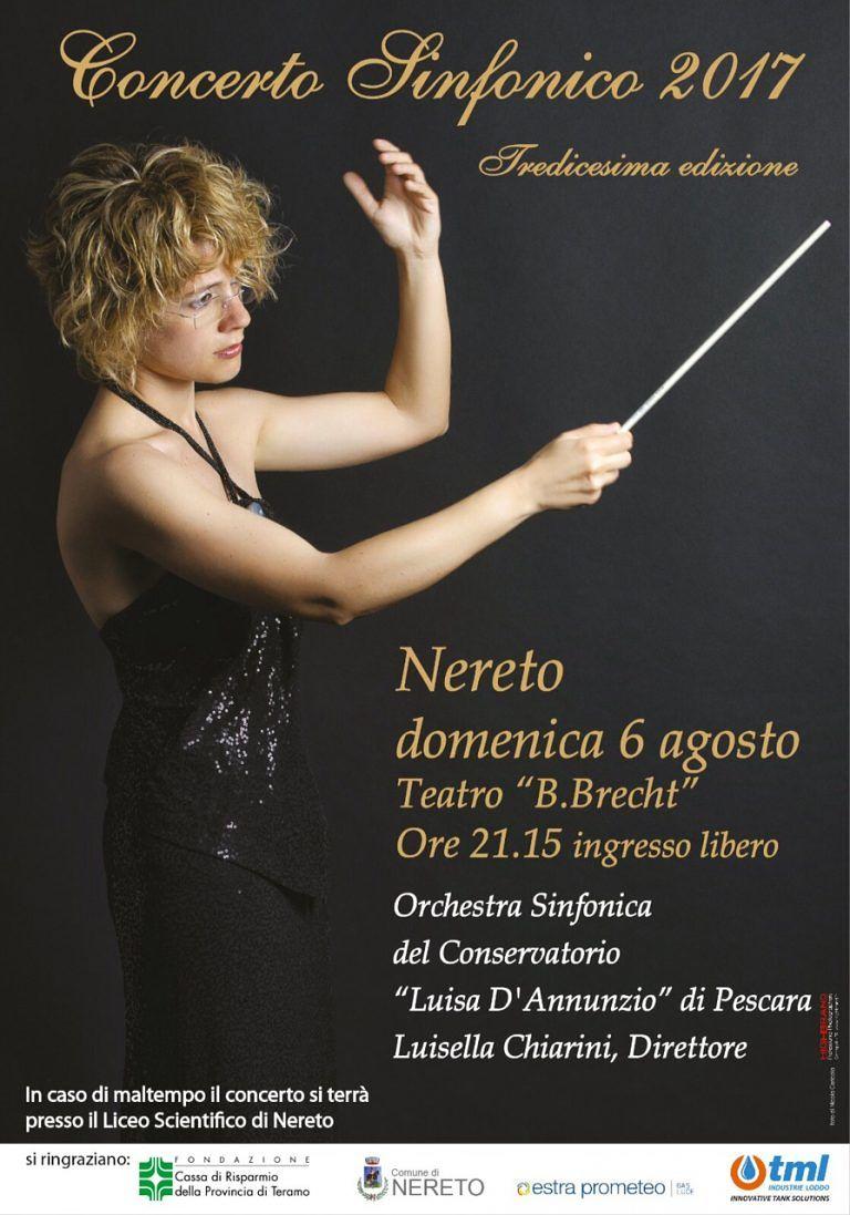 Nereto, appuntamento con il tradizionale concerto sinfonico