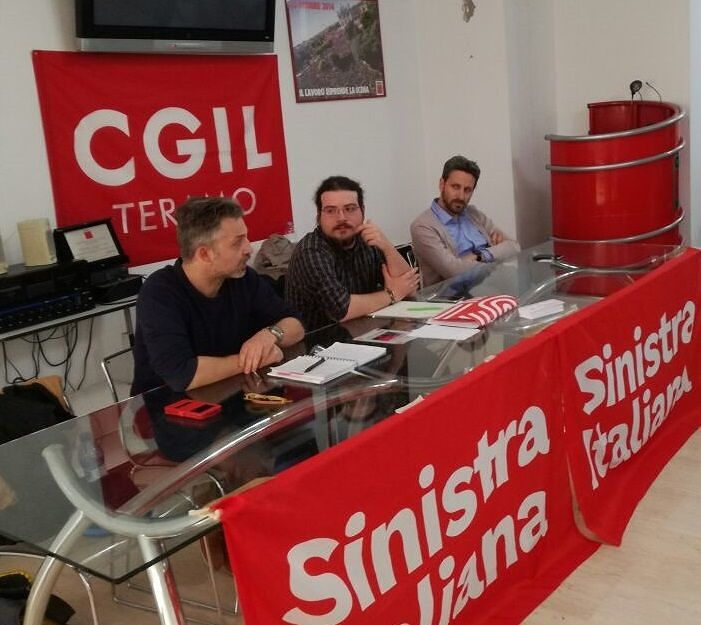 Teramo, Stefano Ciccantelli eletto coordinatore provinciale di Sinistra Italiana
