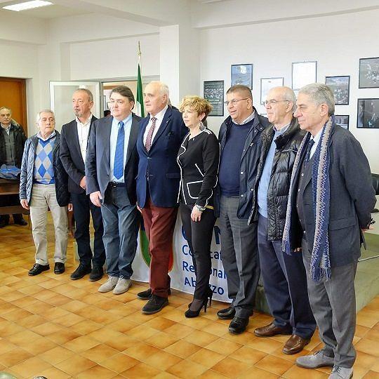 Coni Abruzzo, Enzo Imbastaro confermato presidente