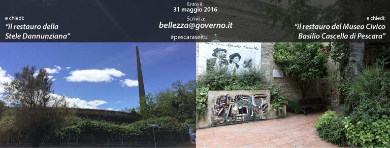Pescara, un'e-mail per il recupero dei luoghi culturali: 150 milioni per i migliori progetti