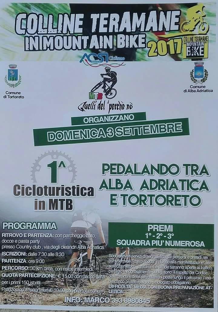Pedalando tra Alba e Tortoreto: prima edizione della ciclo turistica in Mtb
