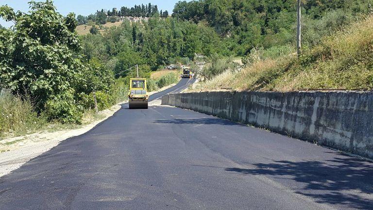 Penna Sant'Andrea, completati lavori su una strada comunale
