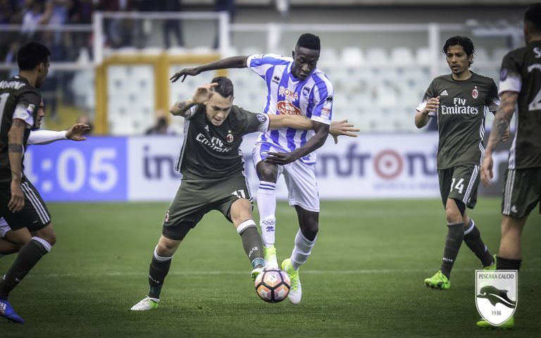 Pescara, Coulibaly verso l'Inter: ostacolo Verona per Ganz