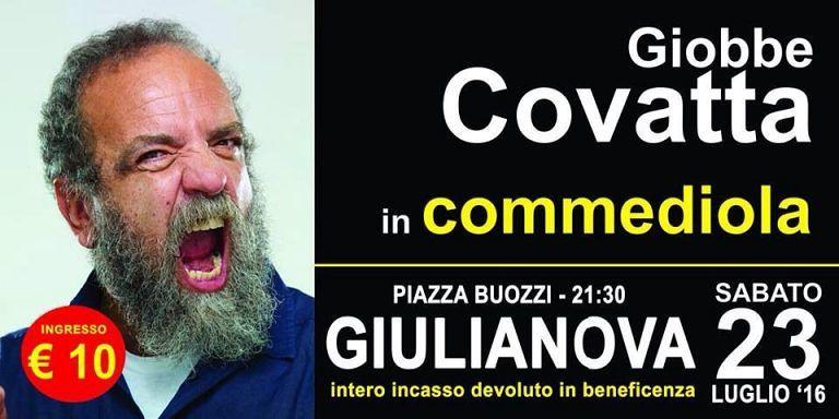 Giobbe Covatta torna a Giulianova per aiutare l'Africa con Oltre l'attimo
