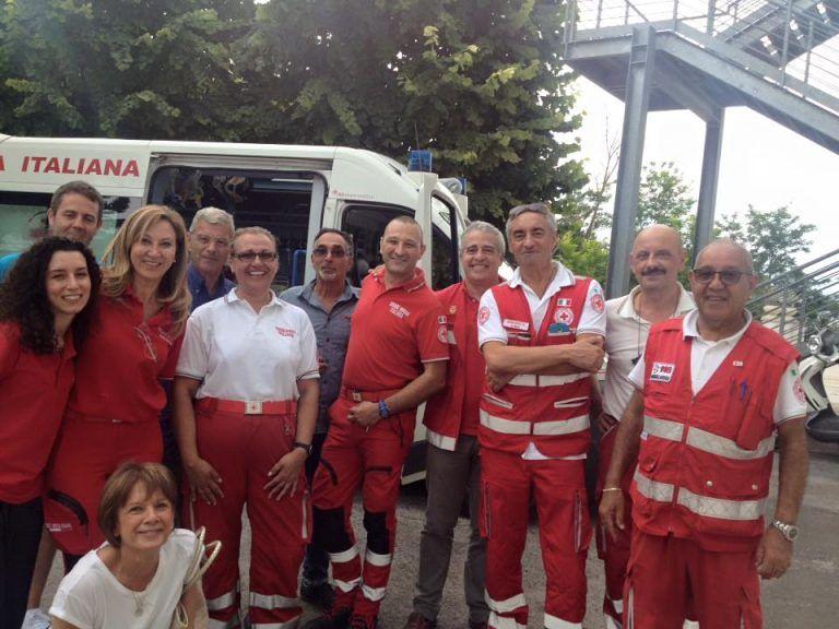 Spoltore, Croce Rossa: prove di evacuazione in una struttura sanitaria