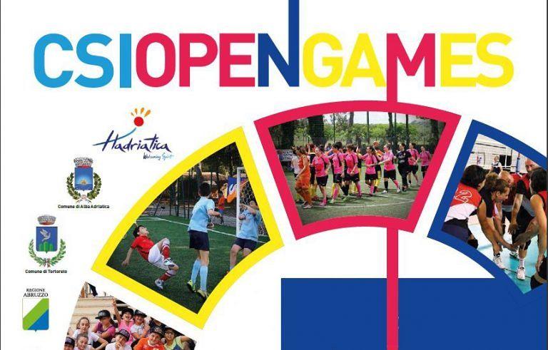 CSI, Open Games ai nastri di partenza a Martinsicuro ed Alba Adriatica