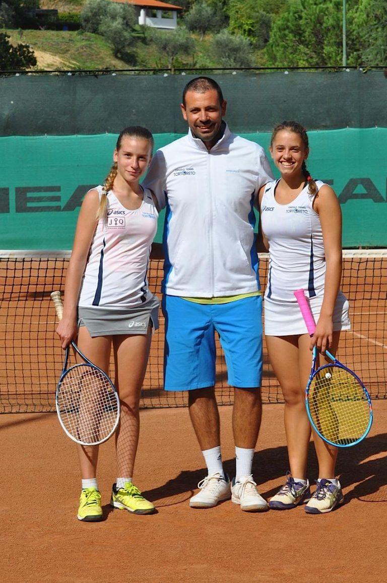Tennis, la squadra under 16 donne del Ct Tortoreto sesta in Italia