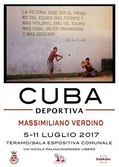 Teramo, Max Verdino presenta reportage fotografico sullo sport a Cuba