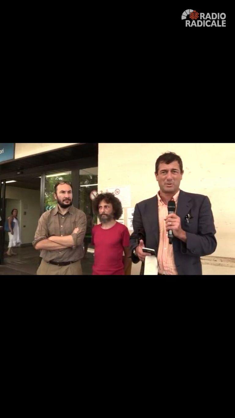 """Cannabis terapeutica, Fabrizio Pellegrini: """"la salute è un bene primario"""" FOTO/VIDEO"""