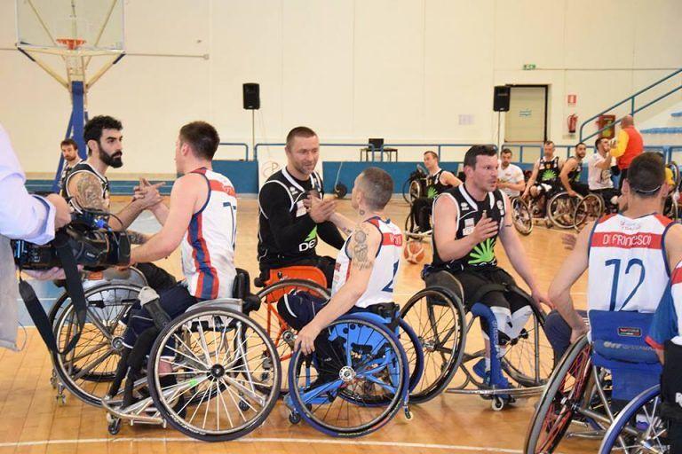 Basket in carrozzina, Amicacci fuori dai play off: ora testa all'Europa