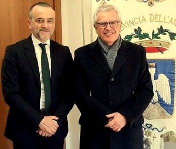 Provincia L'Aquila, De Crescentiis riceve nuovo prefetto Linardi