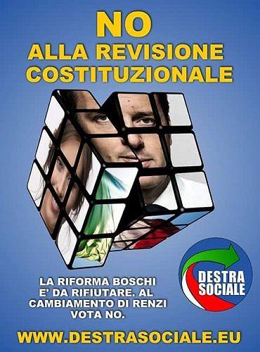 Referendum, Destra Sociale Abruzzo si schiera con il NO
