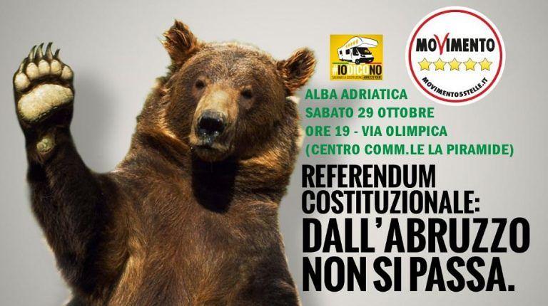 #iodicono: il camper del M5S ad Alba Adriatica e Tortoreto