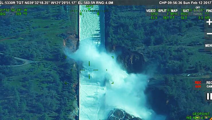 Stati Uniti, paura per la diga di Oroville. Evacuate 188.000 persone