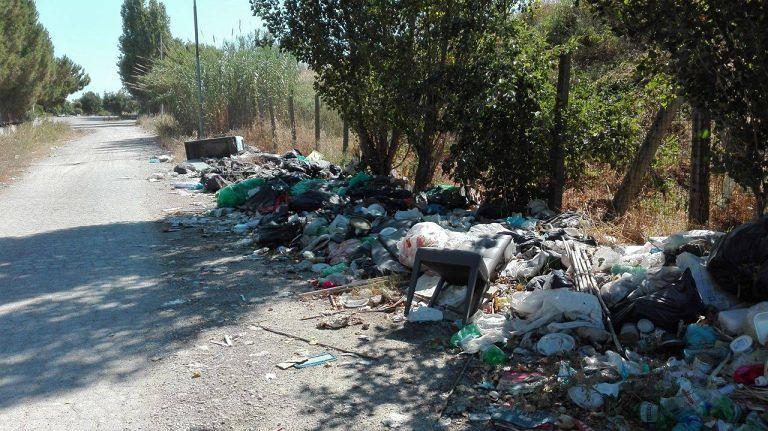 Giulianova, nuova discarica nell'area industriale di Colleranesco (VIDEO/FOTO)