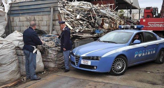 Pescara, discarica abusiva e ricettazione: denunciata una ditta in via Raiale
