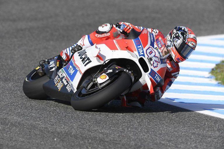 Montesilvano, la Ducati di Dovizioso in mostra al Racing Show