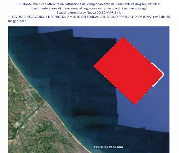Ortona, dragaggio porto: studi rivelano segni di stress ambientale in mare