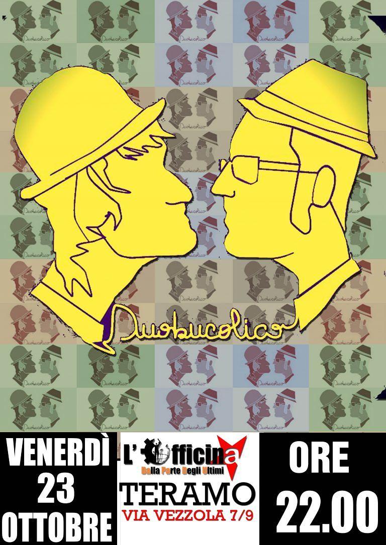 """Teramo, torna il """"Duo Bucolico"""" da Officine Indipendenti"""