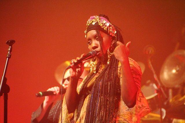 Durga McBroom in concerto a Chieti Scalo