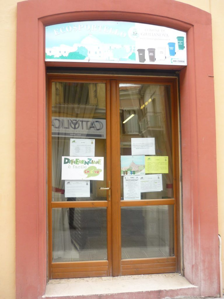 Giulianova, Ecosportello chiuso il 4 novembre per aggiornamenti