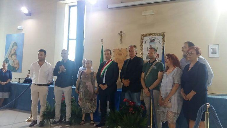 Martinsicuro, Massimo Vagnoni si insedia in Comune: affrontare assieme le sfide VIDEO