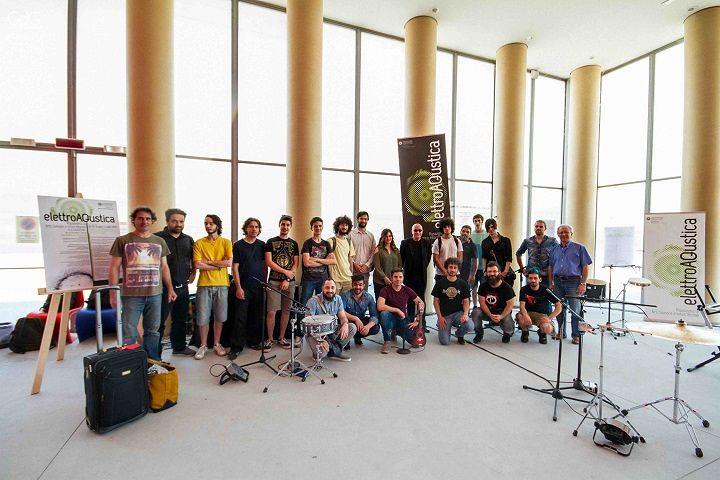 L'Aquila, al via tre giorni dedicati alla musica elettroacustica – FOTO