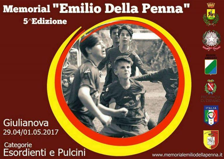 Giulianova, 5° Memorial Emilio Della Penna: 68 squadre e un quadrangolare tutto al femminil